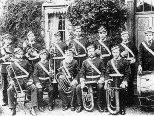 late 1800's brass band